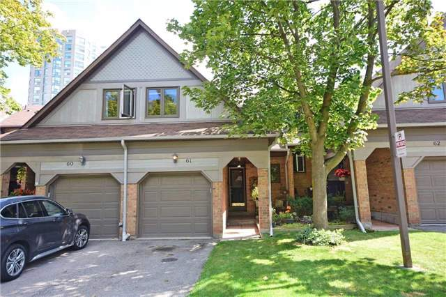Condo Townhouse at 2199 Burnhamthorpe Rd W, Unit 61, Mississauga, Ontario. Image 1