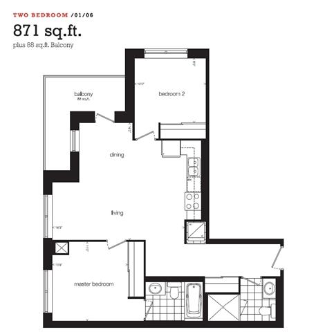 Condo Apartment at 1410 Dupont St, Unit 806, Toronto, Ontario. Image 1