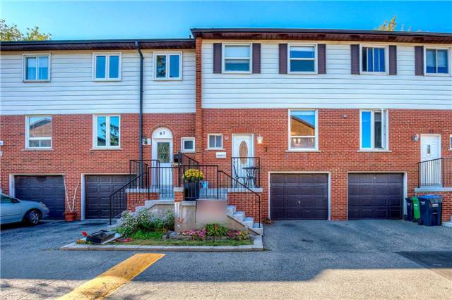 Condo Townhouse at 2445 Homelands Dr, Unit 50, Mississauga, Ontario. Image 1