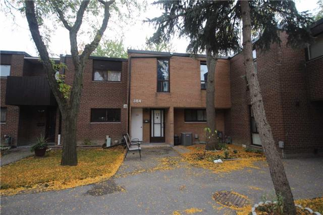 Condo Townhouse at 384 Driftwood Ave, Unit 12, Toronto, Ontario. Image 1