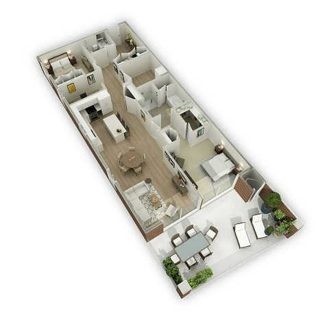 Condo Apartment at 80 9th St, Unit 205, Owen Sound, Ontario. Image 1