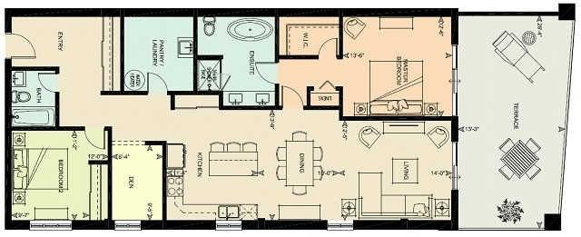 Condo Apartment at 80 9th St, Unit 205, Owen Sound, Ontario. Image 12