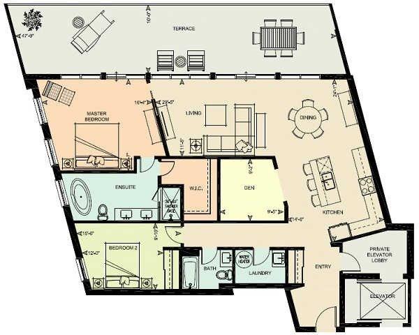 Condo Apartment at 80 9th St, Unit 205, Owen Sound, Ontario. Image 8