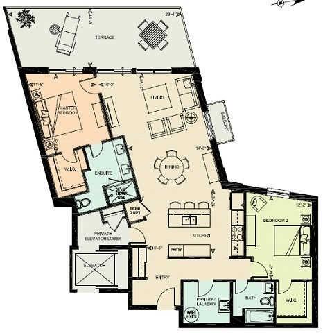 Condo Apartment at 80 9th St, Unit 205, Owen Sound, Ontario. Image 9