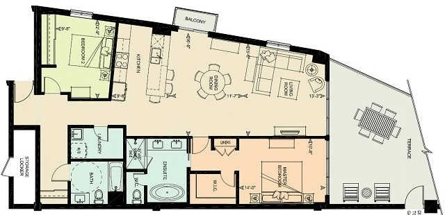 Condo Apartment at 80 9th St, Unit 205, Owen Sound, Ontario. Image 10