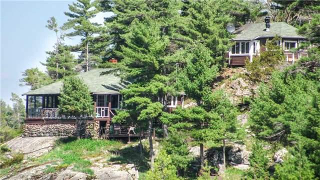 Cottage at 32272 Georgian Bay Shor, Georgian Bay, Ontario. Image 1
