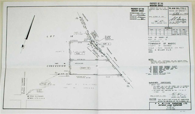 Vacant Land at N/A Barry Rd, Madoc, Ontario. Image 2