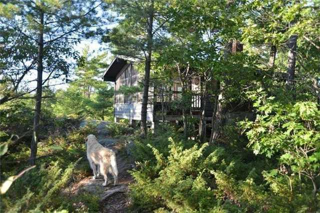 Cottage at B-607 Downward Island, Carling, Ontario. Image 8