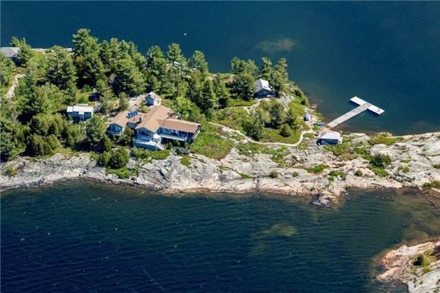 Cottage at 393C(S) Trim Tree Island (S), The Archipelago, Ontario. Image 1