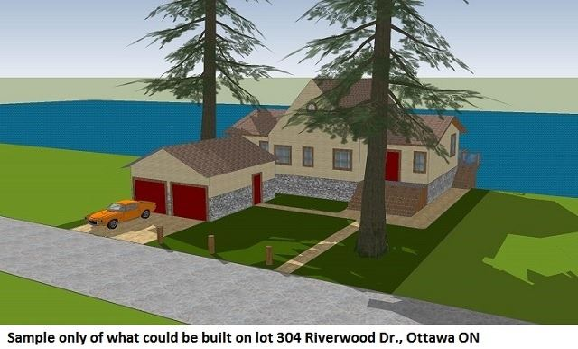 Vacant Land at 304 Riverwood Dr, Ottawa, Ontario. Image 10