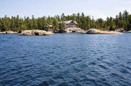 Cottage at A150 Cambria Island, The Archipelago, Ontario. Image 1
