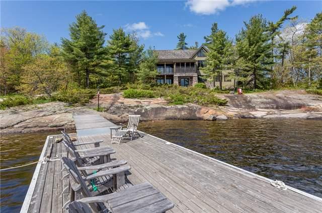 Cottage at 4 Island 2075 St, Georgian Bay, Ontario. Image 1