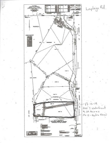 Vacant Land at 537 Laplage Rd, West Nipissing, Ontario. Image 3