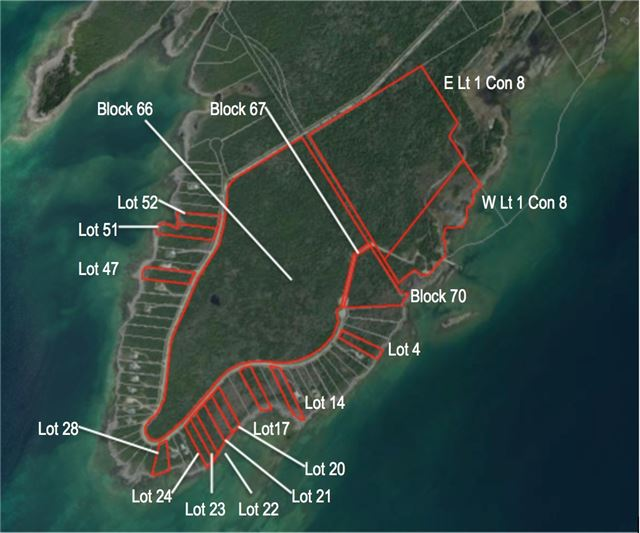 Vacant Land at L24 Greenough Point Rd, Northern Bruce Peninsula, Ontario. Image 2