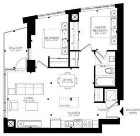 Condo Apartment at 1035 Bank St, Unit 1305, Ottawa, Ontario. Image 12