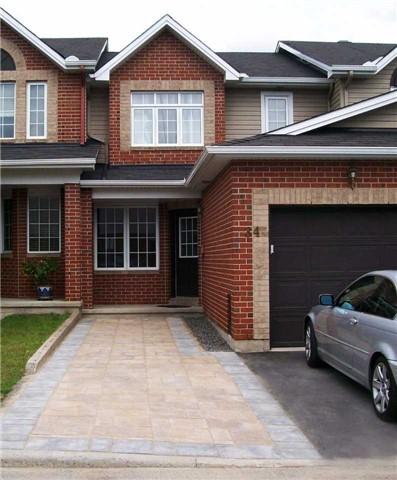 Townhouse at 34 Cargrove Pvt, Ottawa, Ontario. Image 1