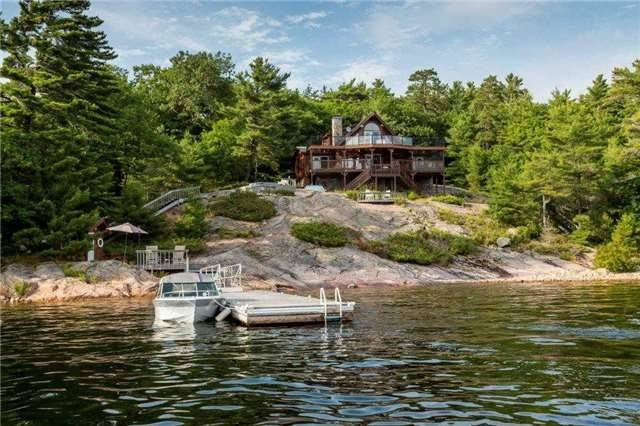 Cottage at 11 Mowat Island, Carling, Ontario. Image 1
