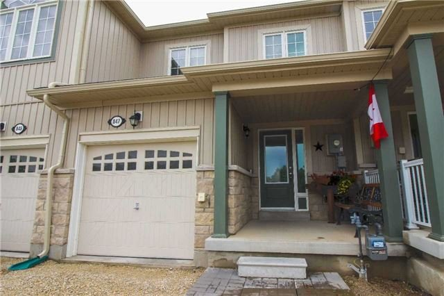 Townhouse at 847 Cook Cres, Shelburne, Ontario. Image 1
