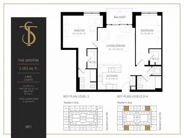 Condo Apartment at 1 Redfern Ave, Unit 219, Hamilton, Ontario. Image 4