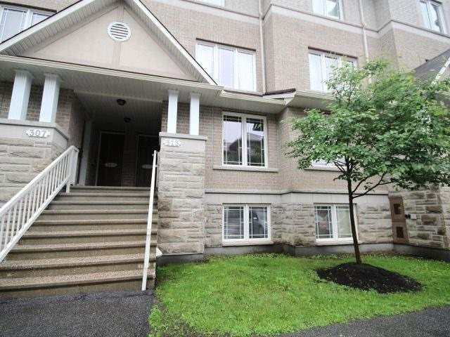 Condo Townhouse at 313 Paseo Pvt, Ottawa, Ontario. Image 1