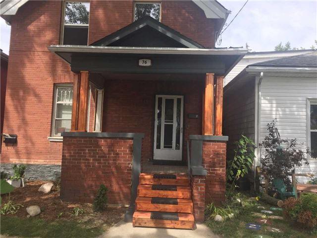 Duplex at 76 Richmond St, Brantford, Ontario. Image 1