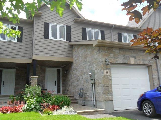 Townhouse at 61 Nathalie St, Clarence-Rockland, Ontario. Image 1