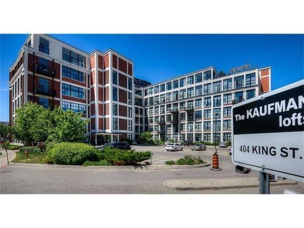 Condo Apartment at 404 King St W, Unit 434, Kitchener, Ontario. Image 1