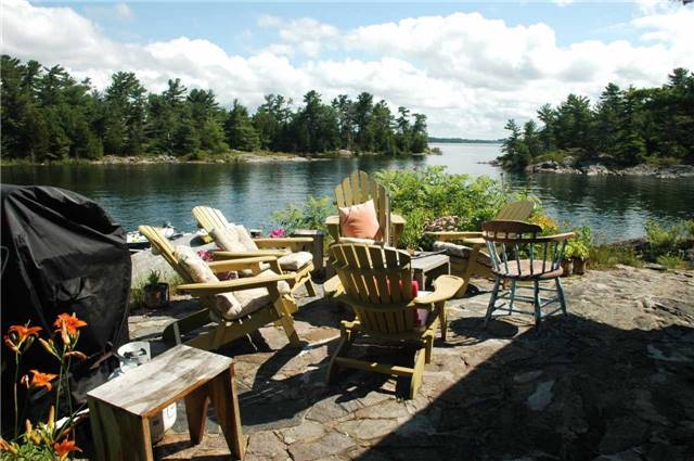 Cottage at 1 A418 Island, The Archipelago, Ontario. Image 17