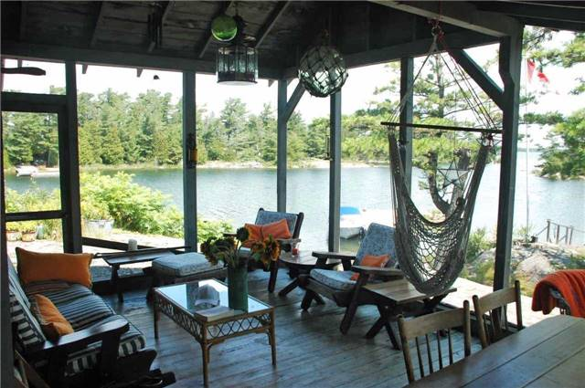 Cottage at 1 A418 Island, The Archipelago, Ontario. Image 2