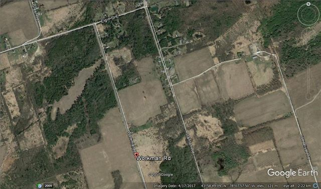 Vacant Land at Pt Lt 9 Workman Rd, Cobourg, Ontario. Image 8