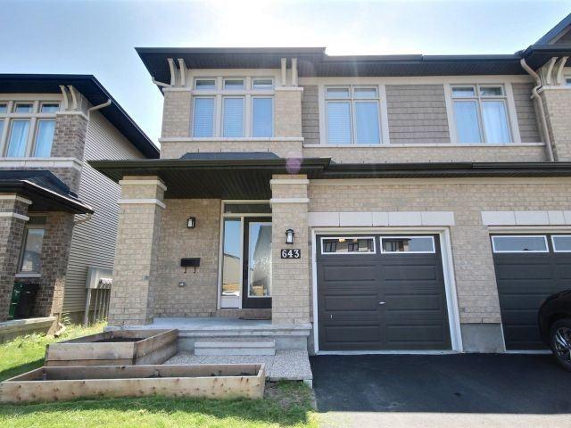 Townhouse at 643 Tennant Way, Ottawa, Ontario. Image 1