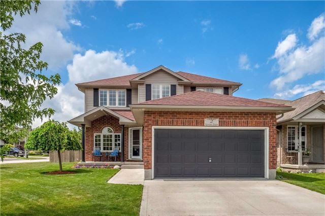 Detached at 2 Norton Dr, Guelph, Ontario. Image 1