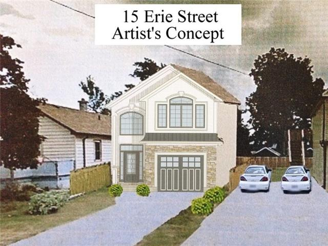 Vacant Land at 15 Erie St, Welland, Ontario. Image 1