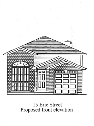 Vacant Land at 15 Erie St, Welland, Ontario. Image 2