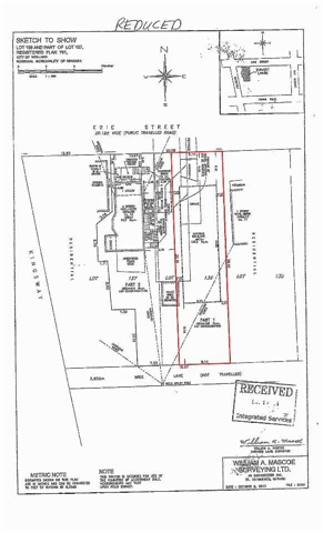 Vacant Land at 15 Erie St, Welland, Ontario. Image 5
