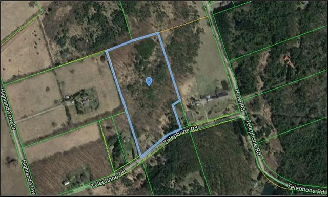 Vacant Land at 1300 Telephone Rd, Alnwick/Haldimand, Ontario. Image 1