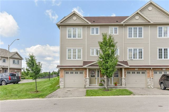 Condo Townhouse at 355 Fisher Mills  Rd, Unit 52, Cambridge, Ontario. Image 1