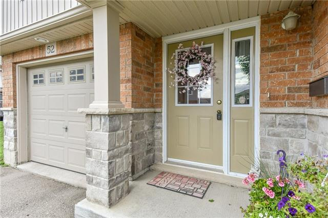 Condo Townhouse at 355 Fisher Mills  Rd, Unit 52, Cambridge, Ontario. Image 9