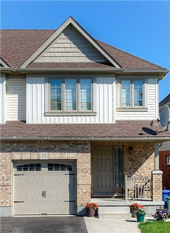 Semi-detached at 71 Curzon Cres, Guelph, Ontario. Image 12