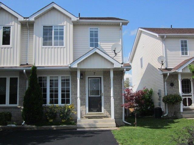 Semi-detached at 7 Farrell Lane, Wellington North, Ontario. Image 1