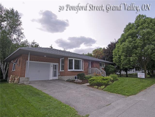 Detached at 30 Ponsford St, East Luther Grand Valley, Ontario. Image 1
