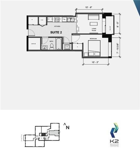 Condo Apartment at 158 King St N, Unit 602, Waterloo, Ontario. Image 3