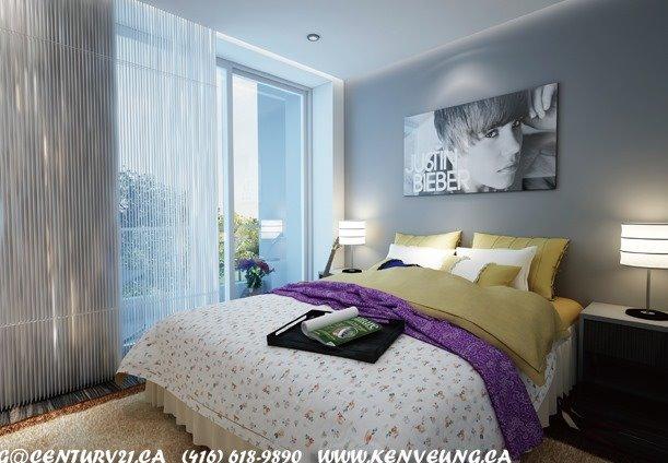 Condo Apartment at 321 Spruce St, Unit 719, Waterloo, Ontario. Image 4