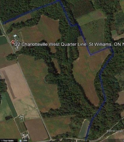 Farm at 122 Charlotteville W Qtr, Unit Qtr Ln, St. Williams, Ontario. Image 13