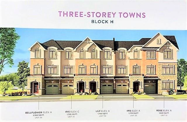 Townhouse at Lot #34 Street A St, Hamilton, Ontario. Image 2