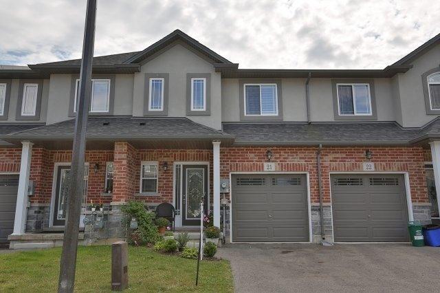 Condo Townhouse at 345 Glancaster Rd, Unit 21, Hamilton, Ontario. Image 1