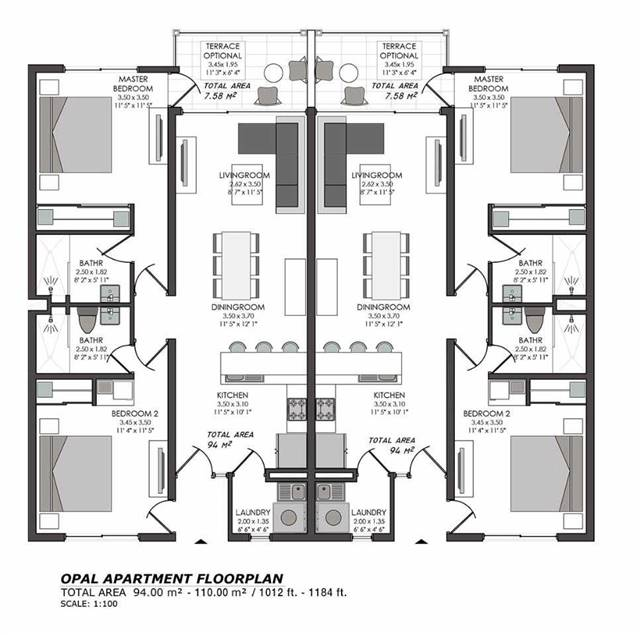 Condo Apartment at 200 Rooi Santo, Unit 7A, Aruba, N/A. Image 5