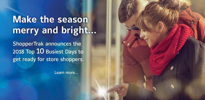 ShoperTrak Holiday 2018 Press Release