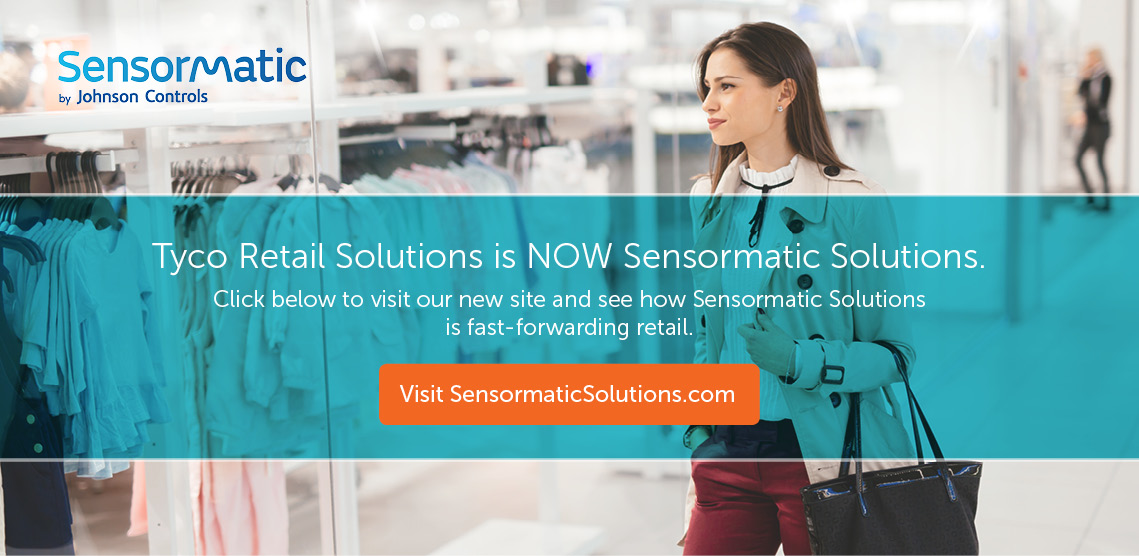 TRS is now Sensormatic Solutions