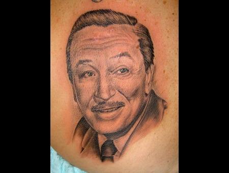 Walt Disney Black White